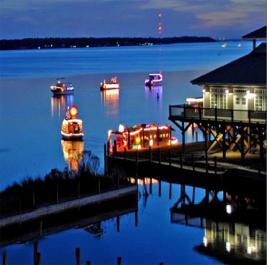 demopolis alabama christmas on the river photo picture image - Christmas On The River