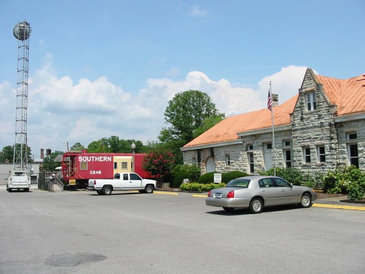 Fort Payne Alabama Fort Payne Depot Museum Photo