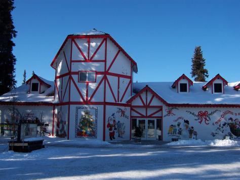 Santa Claus House  North Pole Alaska  Atlas Obscura