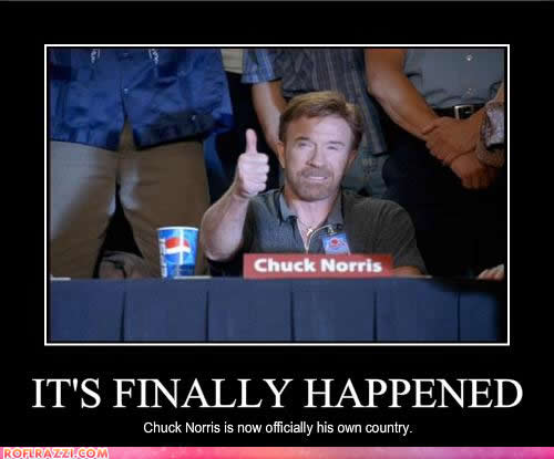If George Bush Wants To Show That His >> Chuck Norris Facts - Art / Entertainment - City Profile Forum
