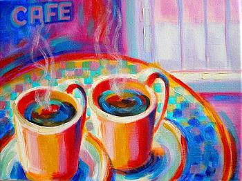 Oil painting-images-drinks-cafe-coffe-cups.jpg