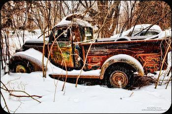 Old Trucks-snow-drift-antique-truck-glow-copyright-anna-surface.jpg