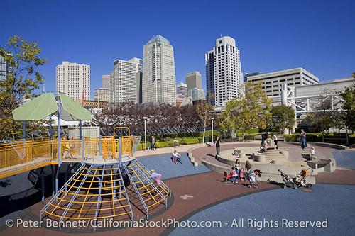 San Francisco California Yerba Buena Gardens Photo Picture Image