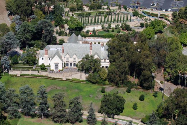Beverly Hills California Greystone Mansion Photo