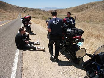 California Motorcycle Trip 2011-lunchhwy33.jpg