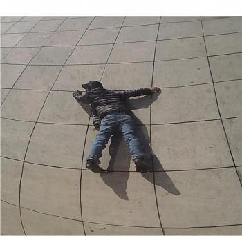 Let's see some cool unique pictures that you taken in Chicago-bean-wall.jpg