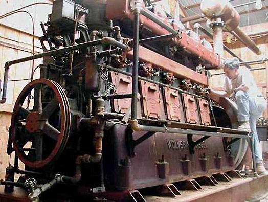 Vintage Steam Engine 66