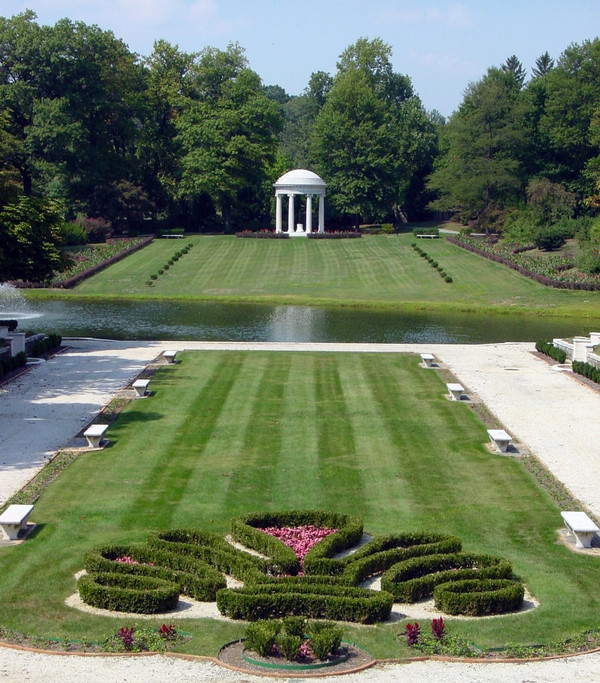 Wilmington Delaware Nemours Mansion And Gardens Photo