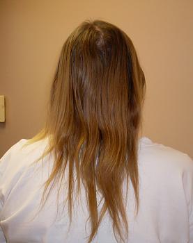 baby fine, thin, poker straight hair-before-back.jpg