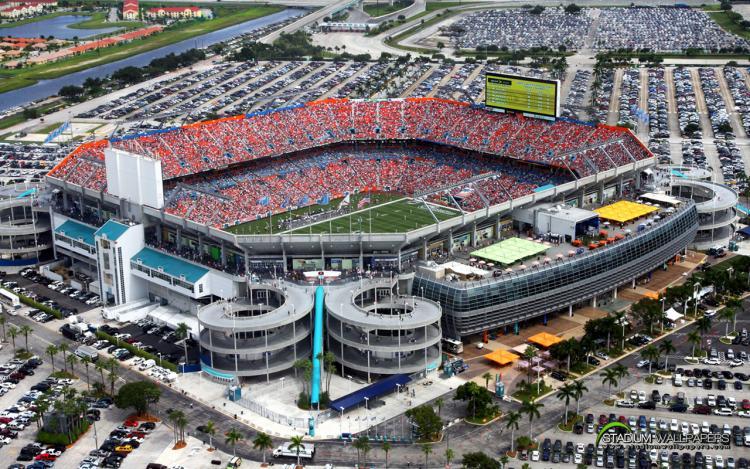 Sun Life Stadium Miami Gardens Florida
