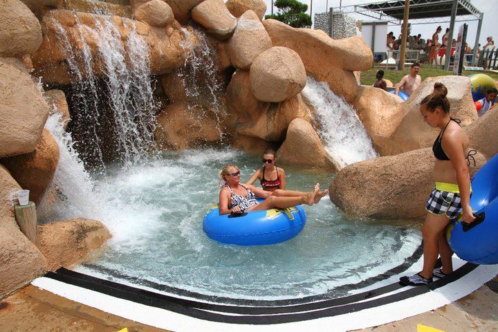 Panama City Beach Florida Shipwreck Island Water Park Photo Picture Image