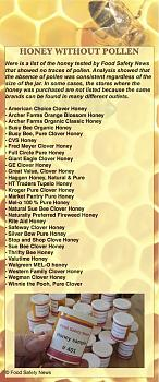 Most Store Honey Isn't Honey I-honey-without-pollen.jpg