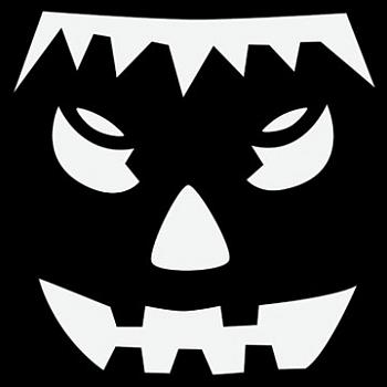 Free pumpkin carving patterns freebies city profile forum for Frankenstein pumpkin pattern