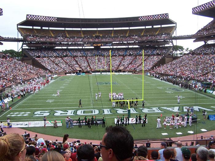 Honolulu Hawaii Aloha Stadium Photo Picture Image