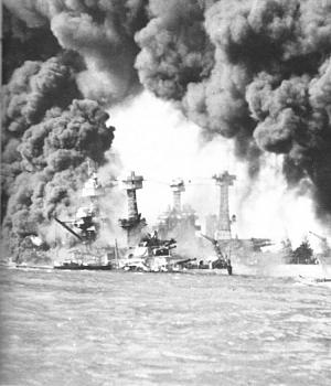 American Civilians killed on December 7, 1941-burning_ships_at_pearl_harbor.jpg