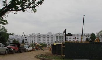 The greenbrier>>white sulphur springs, WV>>YOU WANTED TO KNOW, BUT DIDN'T ASK!!-during-construction-casino.jpg