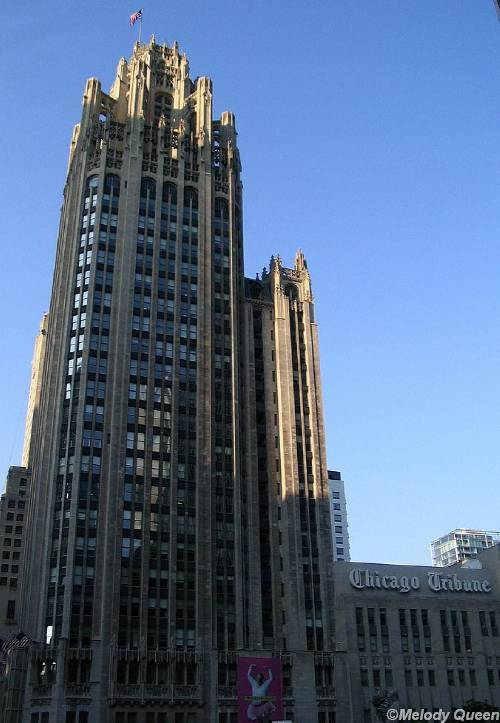 chicago tribune tower. Chicago, Illinois: Tribune
