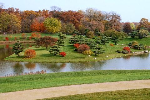 Glencoe Illinois Chicago Botanical Garden Photo Picture Image
