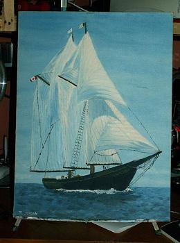 Hello everyone-bluenose__very_old_painting_by_reenajsm.jpg