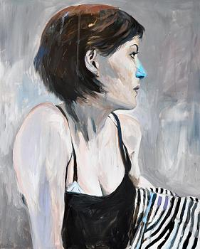 Hello everyone-striped_girl_with_blue_nose__by_gaetan_henrioux.jpg