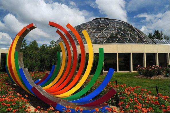 Des Moines Iowa Des Moines Botanical Center Photo