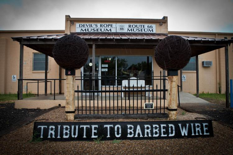 Barbed Wire Museum | 120 W 1st St, La Crosse, KS, 67548 | +1 (785) 222-9900