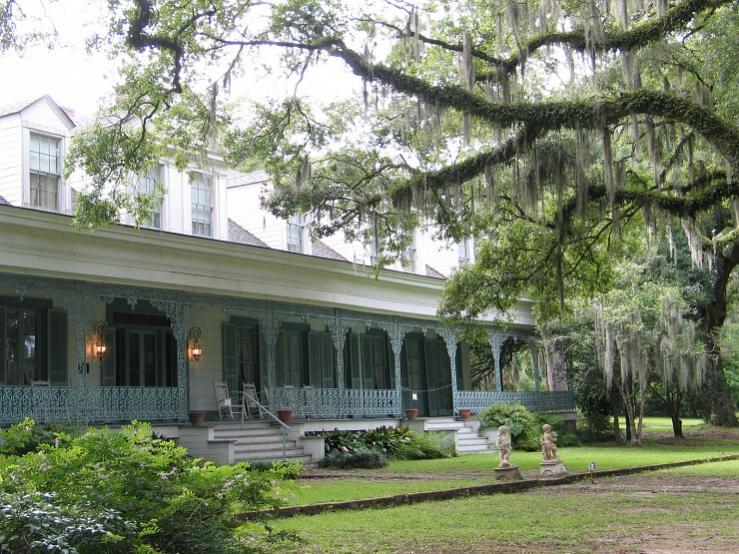 Myrtles Plantation, St. Francisville Louisiana life