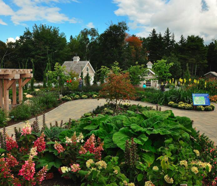 Maine the garden club of the back bay - Botanical gardens boothbay harbor maine ...