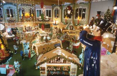 Frankenmuth, Michigan: Bronner's Christmas Wonderland photo ...