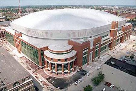 Edward Jones Dome St Louis Missouri