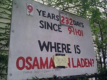 Obama dinner one liners brutile.-osama-dead-sign.jpg