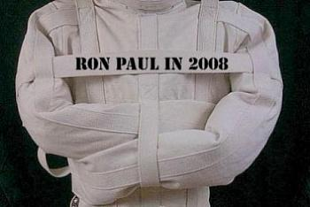 Ron Paul is a crazy, racist conspiracy loon.-straightjacketronpaul1.jpg