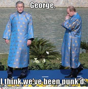 Funny Political Cartoons and Memes-political-pictures-bush-putin-george-punkd.jpg