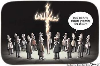 Tea Party Activist to Challenge Boehner in Next Primary-birther-cross-burners.jpg