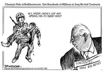 Funny Political Cartoons and Memes-cheney-halliburton.jpg