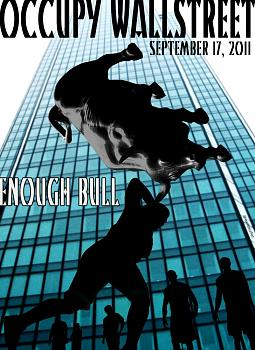 Occupy Wall Street Protests-enough_bull_exiledsurfer.jpg