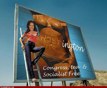 Bachmann campaign didn't know-michelle-bachmann-billboard-advert.jpg