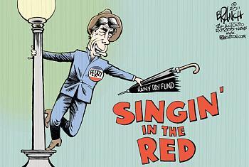 Perry?s giddy speech raises eyebrows, questions-rick-perry-singing-rain-web-4-24-11.jpg