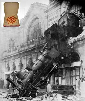 NBC confirms Cain accuser received cash settlement-pizza-train_wreck_at_montparnasse.jpg