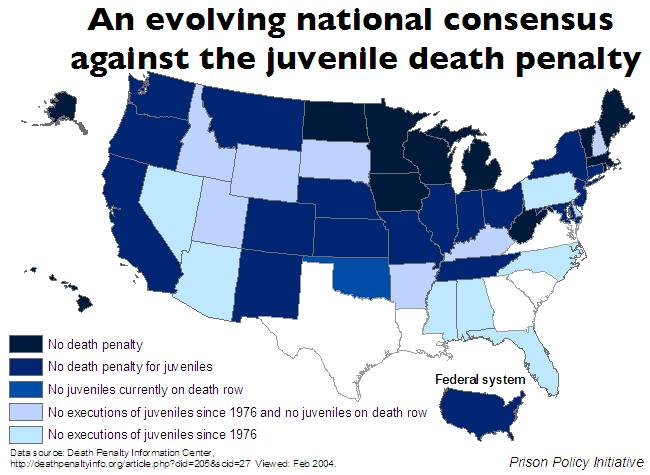 research paper on death penalty for juvenile Juvenile crime research papers illustrate that the juvenile justice system in the united states is deeply flawed.