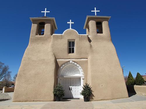 Ranchos de Taos, New Mexico: San Francisco de Asis Mission Church ...