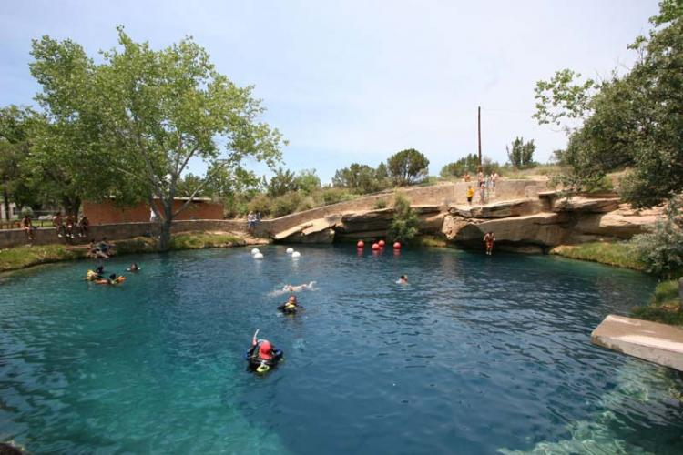 Santa Rosa New Mexico Blue Hole Photo Picture Image