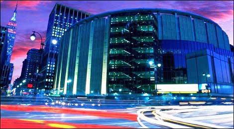 Madison Square Garden New York New York