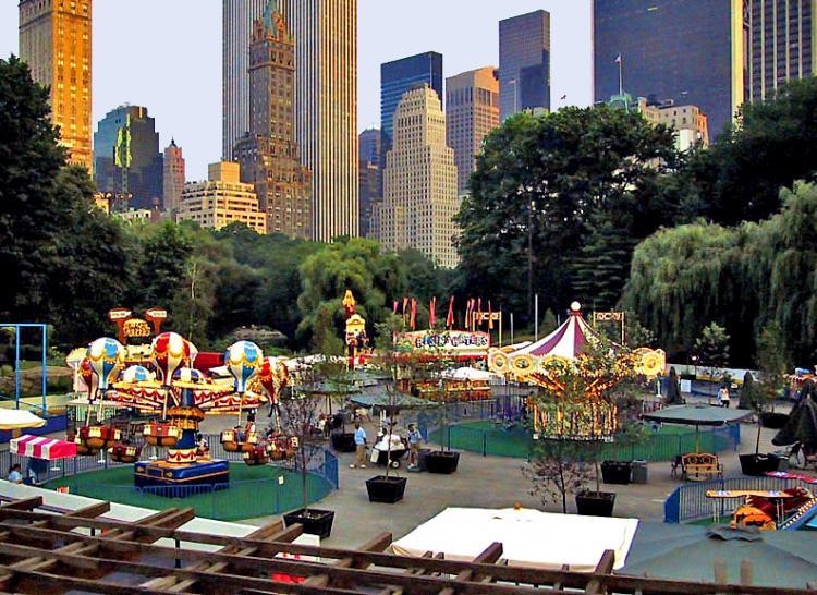 New York New York Victorian Gardens Photo Picture Image