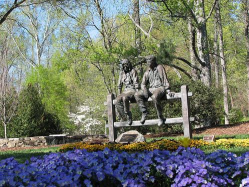 Tanger Family Bicentennial Garden Greensboro North Carolina