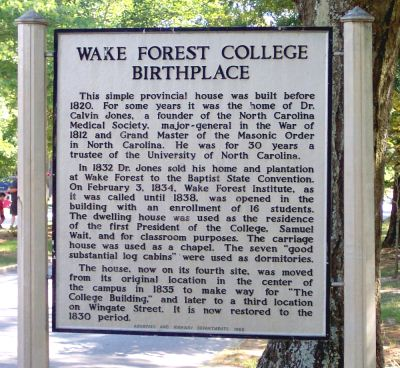 Wake forest dating