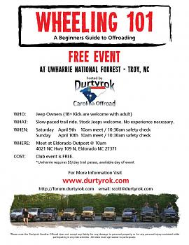 Have a Jeep? Want to use it? April 9-10th-durtyrok-wheeling-101-flyer-v1.jpg
