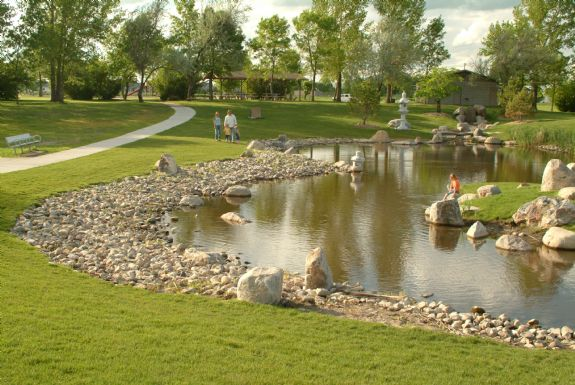 Grand Forks North Dakota Japanese Garden Photo Picture Image