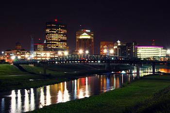 A Night Out on CityProfile - Photo Contest-urban_downtown_dayton_ohio_city_night_skyline.jpg