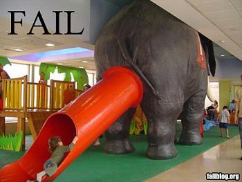 Funny stupid picture thread-fail-owned-elephant-slide-f.jpg